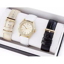 Reloj Guess Para Dama Estilo U0069l4 Con 3 Extensibles