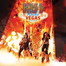 Kiss Rocks Vegas 2 Vinilos + Dvd Nuevo Importado