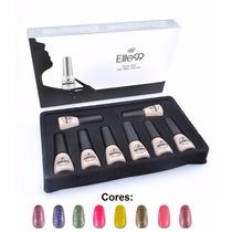 Esmalte Gel Elite99 Led Uv Manicure Unhas Coloridas 8pcs 7ml