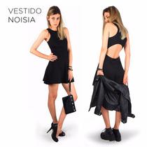 Vestido Skater Espalda Abierta Fiesta Verano 17 - Noisia