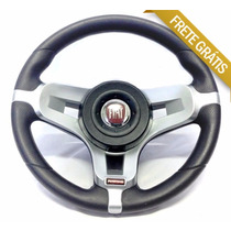 Volante Esportivo Rallye Fiat Palio Siena Strada Uno + Cubo