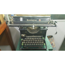 Maquona De Escrever Antiga Remington 30