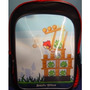 Morral Angry Birds Holográfico 3d Mochila Tamaño Completo 1
