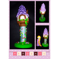 Rapunzel + Torre Porcelana Fria