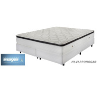 Colchon Sommier Meyer 200x200 Promo 12 Pagos Sin Interes !!!