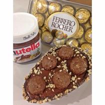 Ovo De Páscoa De Colher Gourmet Nutella Com Ferrero Rocher