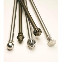 Cortinero De Metal Extensible De 1 1/4 De Grosor