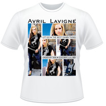 Camiseta Avril Lavigne Pop Punk Rock Camisa #2