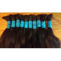 Cabelo Humano Natural 50 Cm 100 Gramas Para Mega Hair