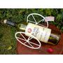 Porta Botella O Vino En Hierro - Artesanal!!