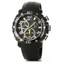 Relógio Everlast Cronógrafo Puls De Borracha E183 Original