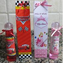Perfumes Personalizados Souvenirs C/cajita Papel Fotog.