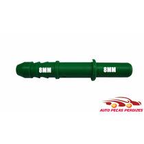 Conector Engate Rapido Gasolina 8mm X 8mm ( Emenda )