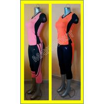 Leggins Lycra Blusas Deportivas Conjuntos Pants De Mujer