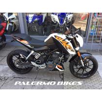 Ktm Duke 200 Modelo 2014 Impecable Estado Palermo Bikes