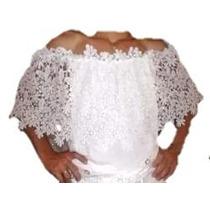Blusa Con Encaje Importada