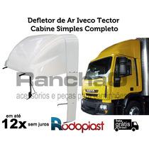 Defletor De Ar Iveco Tector Cabine Simples Completo