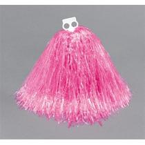 Disfraz De Porrista Pompones Jumbo Rosados Grande