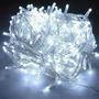 Guirnalda Led Luces Deco Navidad Blanco Control 8 Efectos