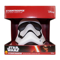 Star Wars Deluxe Stormtrooper En 2 Piezas Casco Oficial