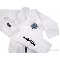 Traje Taekwondo Itf Dobok T 0a2 Acrocel Shiai Uniforme Niños