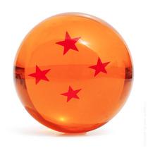 Esfera Do Dragão 4 Estrelas Dragon Ball Z Tamanho Real 7cm