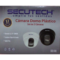 Dpst-22 Kit Camaras Secutech Con Cable/transform/conector/