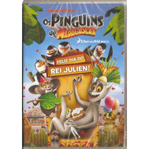Dvd Os Pinguins De Madagascar - Feliz Dia Do Rei Julien! -
