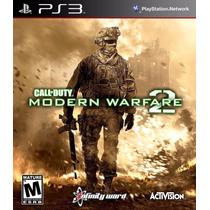 Ps3 - Call Of Duty Modern Warfare 2 - Semi - Míd Fis