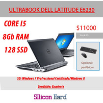 Ultrabook Dell Latitude E6230 Corei5 8gb Ram Ssd Hdmi Usada