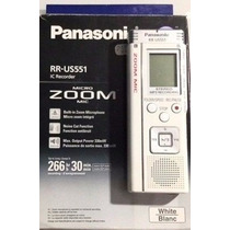 Gravador De Voz Panasonic Rr-us551 Novo Na Embalage Lacrado
