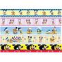 Faixa Border Decorativa Infantil Bebê Disney Mickey Minnie