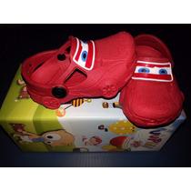 Sandália Infantil Disney Crocs Carros Relâmpago Mcqueen