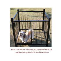 Cercado Canil Caes Gatos Pet Shop Kit 4 Pçs Sem Portão Csk