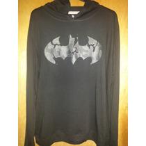 Sudadera Hoodie Batman (ligera) Original Dc Comics Importada