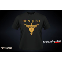 Remeras Bon Jovi . Because We Can . Argentina 25-septiembre