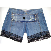 Shores Jeans Decorado Verano Juvenil Fashion