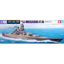 Super Couraçado Japonês Musashi - Tamiya 1/700