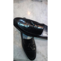Zapato Italiano Moreschi Color Negro 43 Diseño Exclusivo