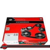 Kit Correia Dentada Citroen C3 C4 C5 C8 Xsara 1.6 16v Gates