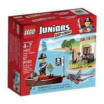 Lego Juniors Pirata Búsqueda Del Tesoro Set