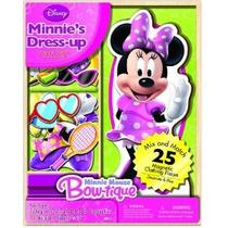 Bendon Disney Minnie Mouse De Madera Magnética Playset 25 Pi