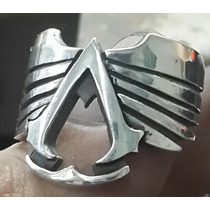 Peliculas Y Comic. Anillo Assassin Creed En Plata. Modelo 06