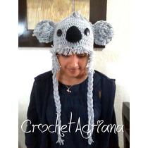 Gorritos Tejidos Koala, Casco Medieval, Ratón, Angry Birds