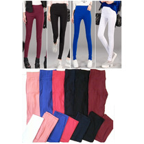 Pantalones Elastizados Oficina Importados Comodos