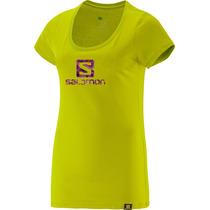 Remera Salomon - Logo Ss Tee - Mujer