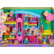 Nova Casa De Surpresas Da Polly Lançamento Mattel Dnb25