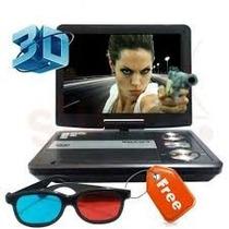 Dvd Portatil Sony 3d - Incluye Lentes 3d Juegos Y Películas