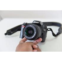 Maquina Fotográfica D80 Nikon + Mais Lente + Carragador