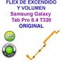 Flex Encendido Boton Power Samsung Tab 4 T320 Original<br><strong class='ch-price reputation-tooltip-price'>$ 7.000</strong>